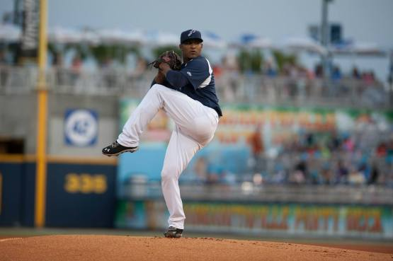 Carlos Contreras registered a 3-2 record and 2.76 earned run average last summer in Pensacola.