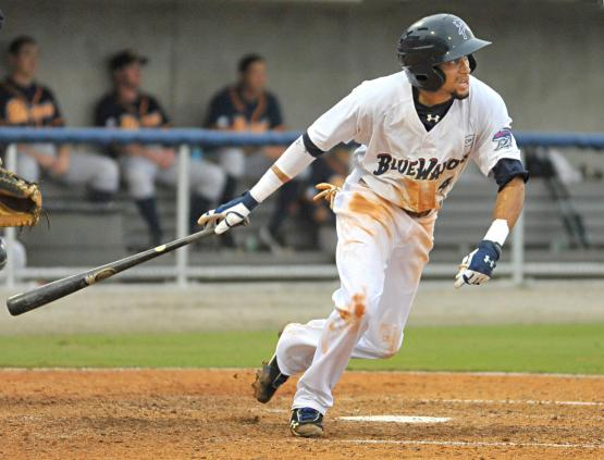 Billy Hamilton spent the offseason working with former Blue Wahoos manager Delino DeShields, his mentor since 2010.