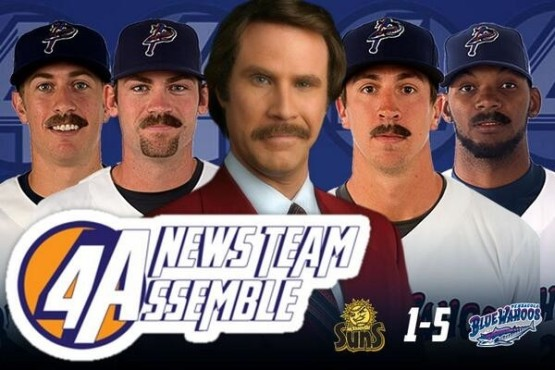 The Wahoos are hosting Anchorman 2 Night on May 6.