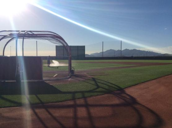 The Double-A training group will play 17 games in Arizona.