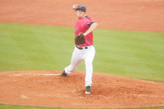 Jon Moscot was 9-11 with a 3.14 ERA in 31 games with Pensacola. (Michael Spooneybarger Photography)