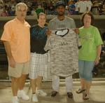 May 26, 2012: Camouflage jerseys were worn to benefit the Eagle Fund.