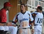 July 14, 2012: Billy Hamilton made his Double-A debut in this jersey as the Wahoos brought awareness to Autism Pensacola.