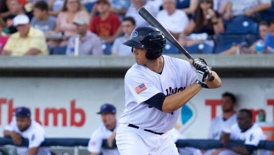 Kyle Skipworth is batting .273 since returning from the disabled list on June 26. (Barrett McClean/Pensacola Blue Wahoos)